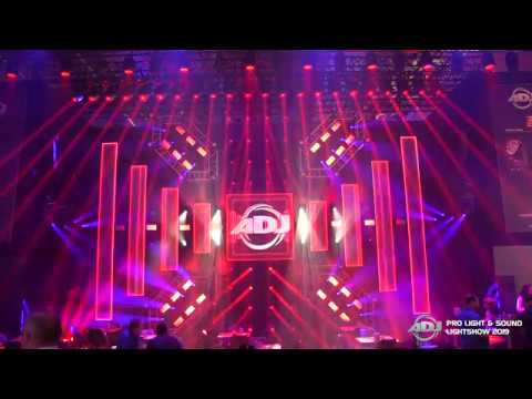 Prolight + Sound 2019 Lightshow