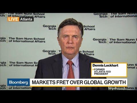 Lockhart: General Slowdown Is Biggest Risk to Global Economy