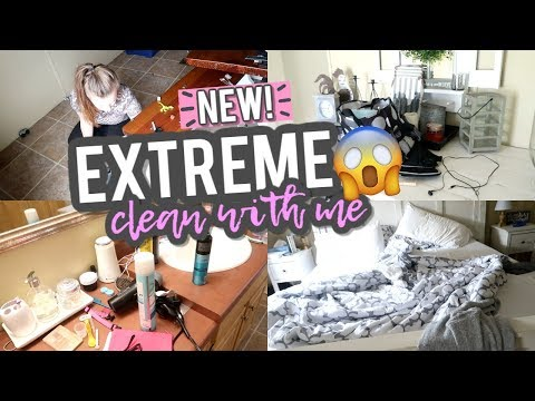 extreme-clean-with-me-|-weekly-cleaning-routine