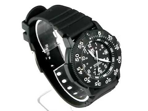 Luminox 3001 navy seal dive watch black dial youtube - Luminox navy seal dive watch ...