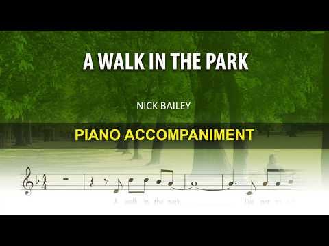 A Walk in the park / Karaoke piano / Nick Bailey, Nick Straker Band /