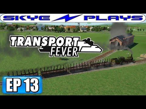 Transport Fever Let's Play / Gameplay Part 13 ►Dogging-On-The-Sly!◀ (1909)