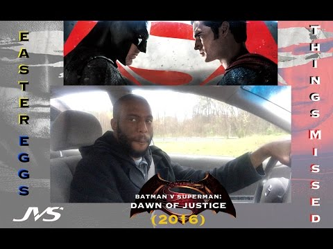 ALL EASTER EGSS & THINGS MISSED (Heavy Spoilers) | Batman V Superman: Dawn Of Justice (2016)