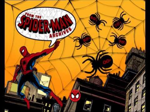 Spider-Man 2002 DVD - Comic Archive menu
