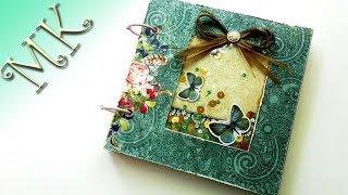 Блокнот с шейкером на кольцах/A notebook with a shaker on the rings/Anisa - Творческие МАСТЕР КЛАССЫ
