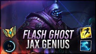 Voyboy: S+ FLASH GHOST JAX GENIUS