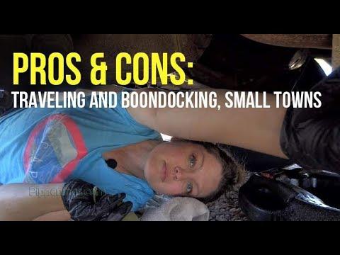 Pros & Cons: RV Travel Thru Small Towns