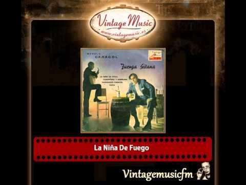 Manolo Caracol y la Orquesta Miguel Angel Sarralde - La Niña De Fuego (Zambra)