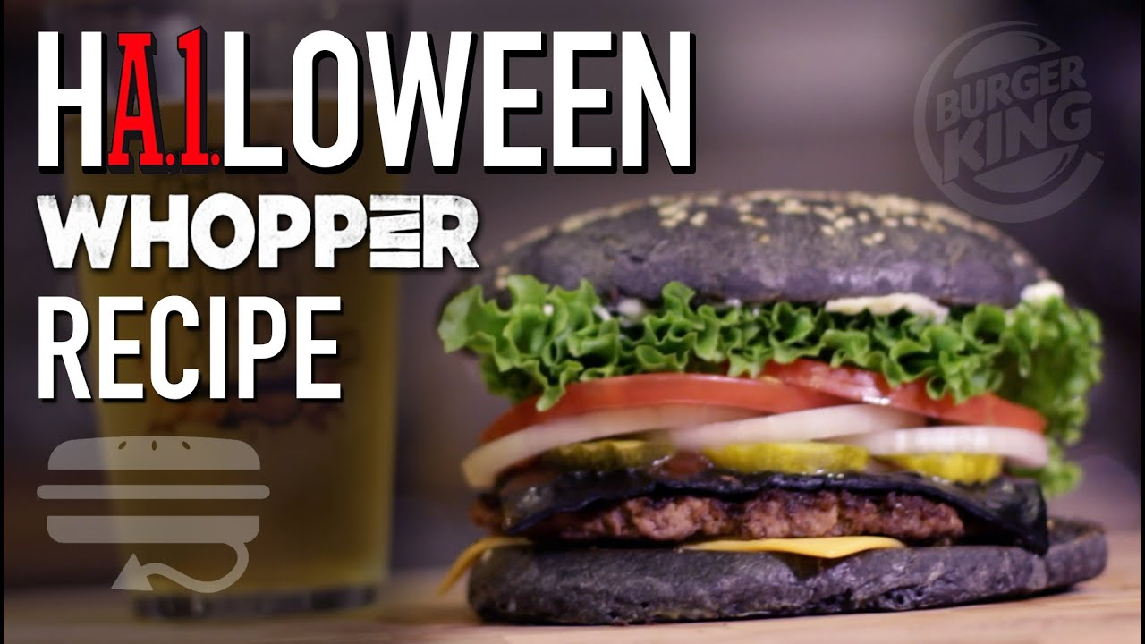 DIY BLACK BUN Whopper