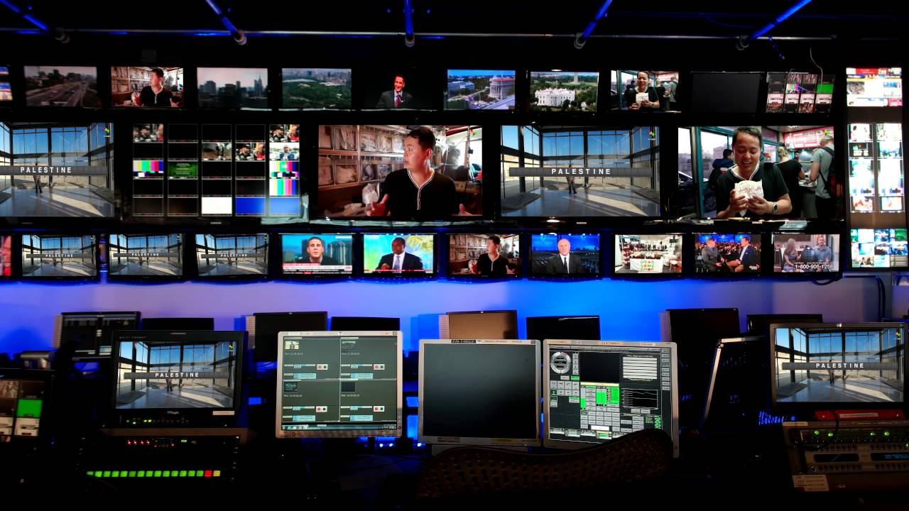 Tv Studio Control Room Design