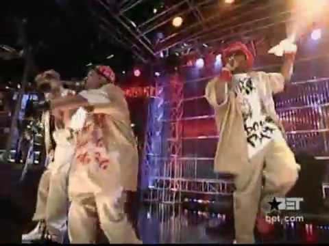 Three 6 Mafia - Ridin Spinners ft. Lil Flip [Live @ 106 & Park]