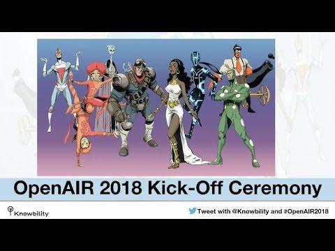 Knowbility 2018 OpenAIR Kick Off Event