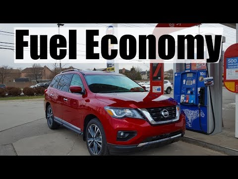 2019 Nissan Pathfinder - Fuel Economy MPG Review + Fill Up Costs