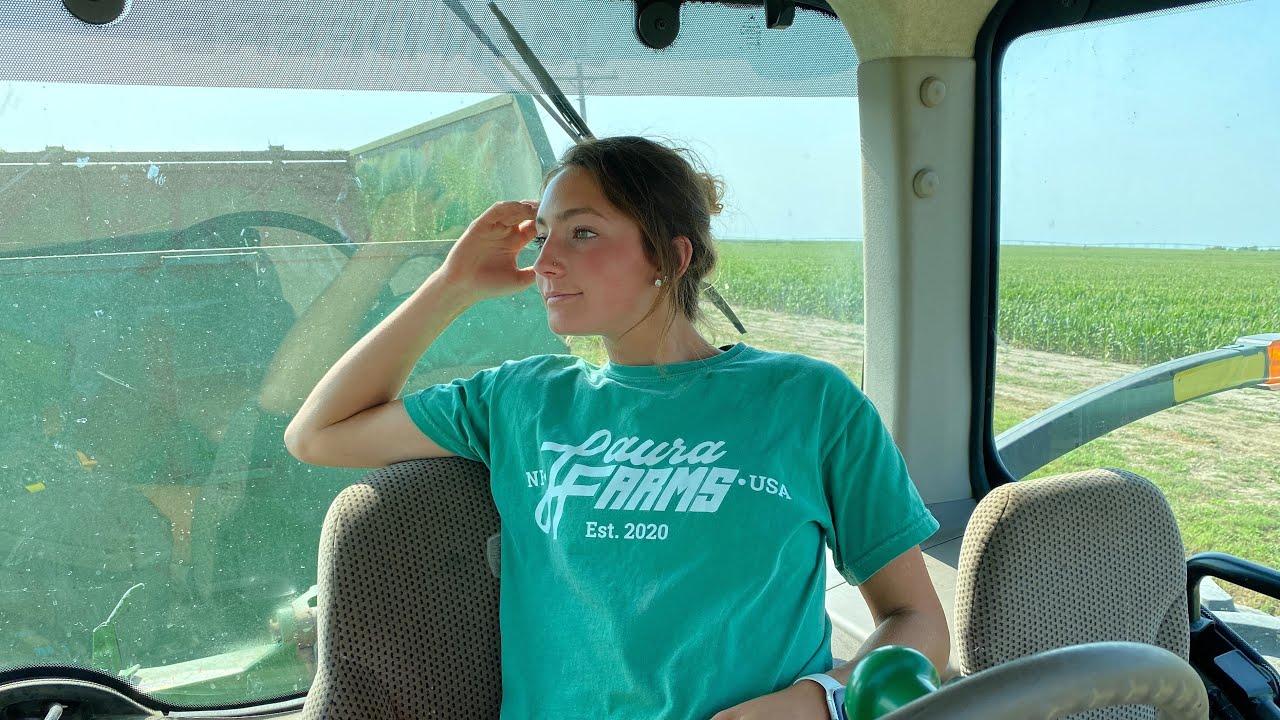 Chopping Silage in Nebraska, USA
