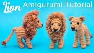Lion Amigurumi Crochet Tutorial
