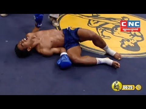 Chhut Sereyvannthorng vs Vigo(thai), Khmer Boxing CNC 20 May 2018, Kun Khmer vs Muay Thai