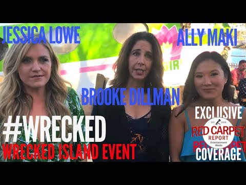 Wrecked cast members Jessica Lowe,  Brooke Dillman, Ally Maki, talk about what's new in Season 2