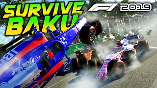 SURVIVE BAKU - F1 2019 Extreme Damage Game Mod