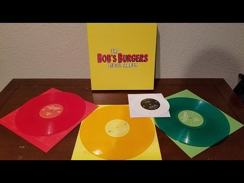 The Bob's Burgers Music Album Limited Edition Vinyl Box Set