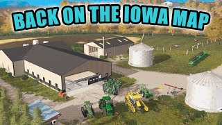 IOWA MAP IS BACK! FINISHING UP CORN HARVEST W/ JD 680 | EP #93 | FARMING SIMULATOR 2017