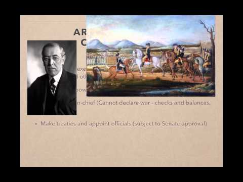 AP Gov Review: Video #2, Separation of Powers