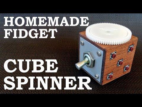 Homemade Fidget Cube Spinner Combo DIY