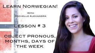 Learn Norwegian! Lesson #3