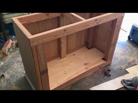Building An Easy 75g Aquarium Stand!