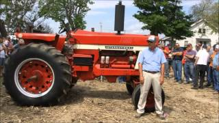Berkey, Ohio Farm Auction 5/30/15: Low Hour IHC Tractors