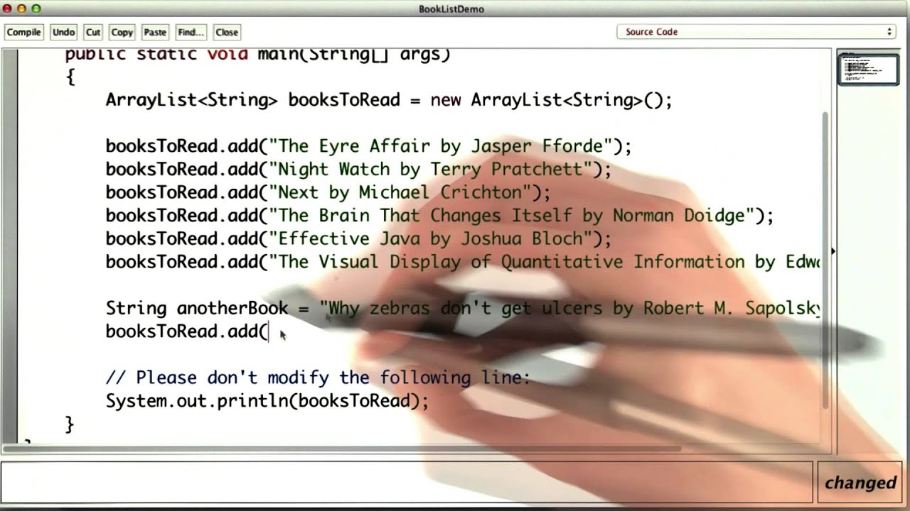 Books To Read - Intro to Java Programming