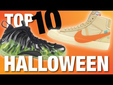 TOP 10 HALLOWEEN Themed SNEAKERS of ALL TIME!