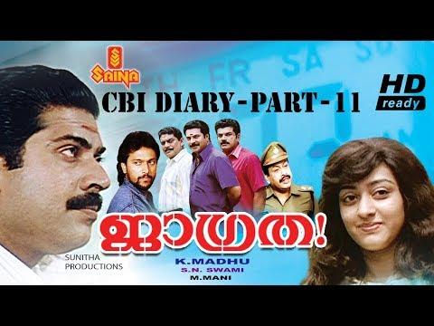 Jagratha Malayalam Full Movie HD | Mammootty | Jagathy Sreekumar - K Madhu | Evergreen Thriller