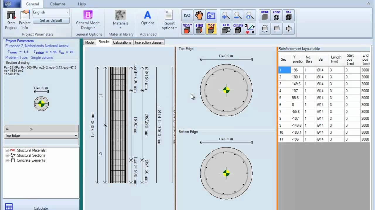Concrete Column Design : Circular column design example mp youtube
