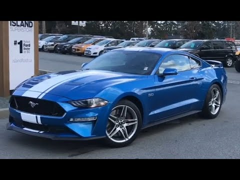 Ford Mustang GT Coupe Premium .L W/ White Striping Review| Island Ford