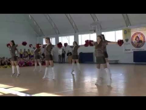 Черлидеры  ЛЭВИС клуба Любимый фитнес из Оренбурга
