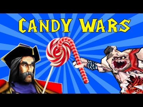 Конфетные Войны в Warcraft 3