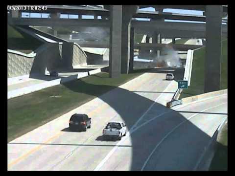 Truck Crash - Grand Prarie TX - Aug 3rd 2013