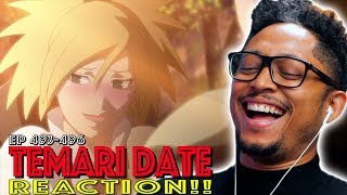 Shikamaru and Temari Date Fail! First Time Watching Naruto Shippuden 493 494 495 496