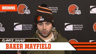 "Baker Mayfield on playing with injured hand: ""Mama didn't raise a wuss"" 