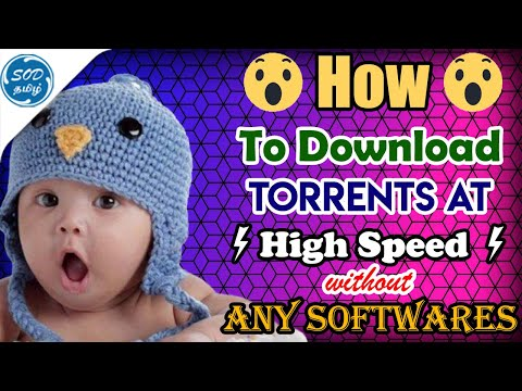 How To Download Torrent Files Without Any Software 2019 | SOD Tamizh