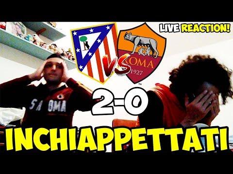 Siamo stati INCHIAPPETTATI   Atletico Madrid-Roma 2-0 [LIVE REACTION]