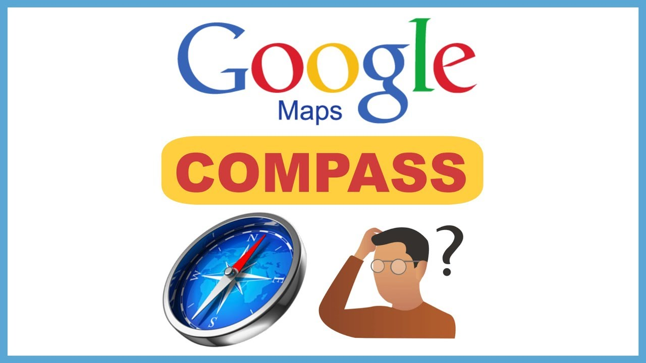 How to activate or enable compass in Google maps