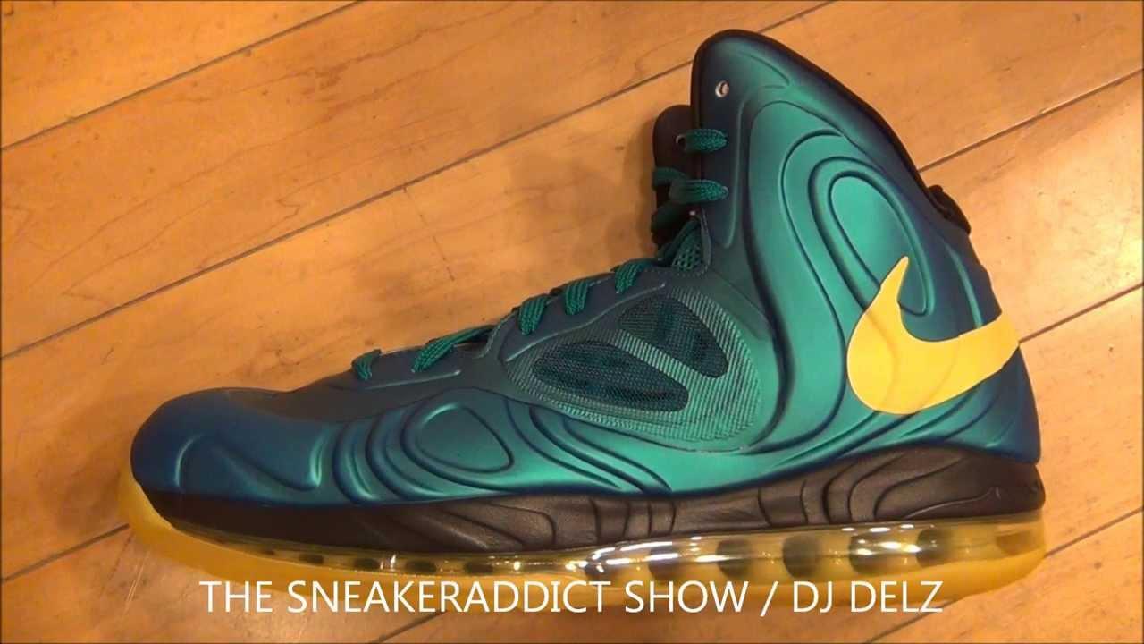 Nike Hyperposite Tropical Teal Yellow Sneaker Review W  Dj Delz  DjDelz   HotOrNot - YouTube b221afbb2