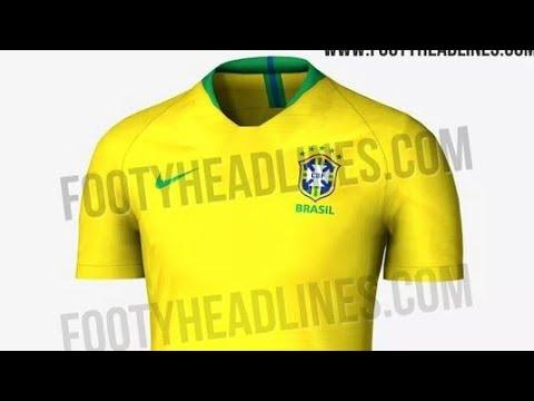 Site vaza suposta camisa que a seleção brasileira usará na copa do mundo de  2018!!! 7082ad20a2846