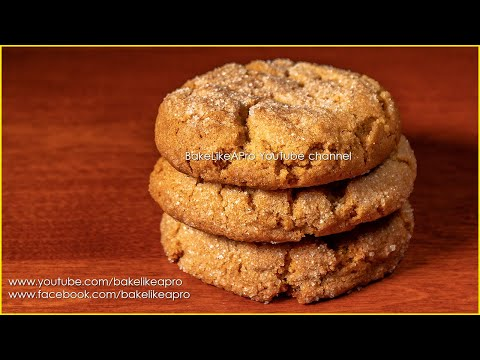 Simply THE BEST SOFT Ginger Cookies Recipe