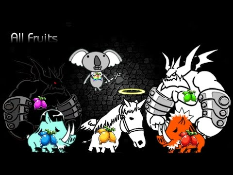 The Battle Cats  All Fruits' Stage Plus Jubilee