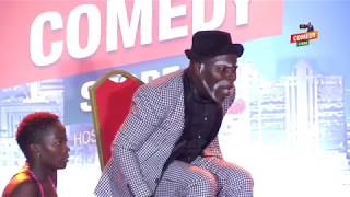 Alex Muhangi Comedy Store Feb 2019 - Jajja Bruce