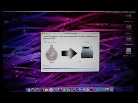 Install Mac OS Sierra On Unsupported Macs