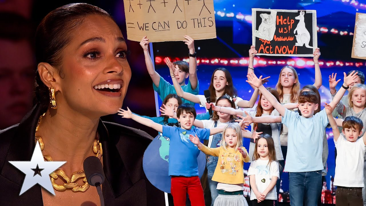 Unforgettable Audition: Singing kids prove to the WORLD they are our FUTURE! | Britain's Got Talent