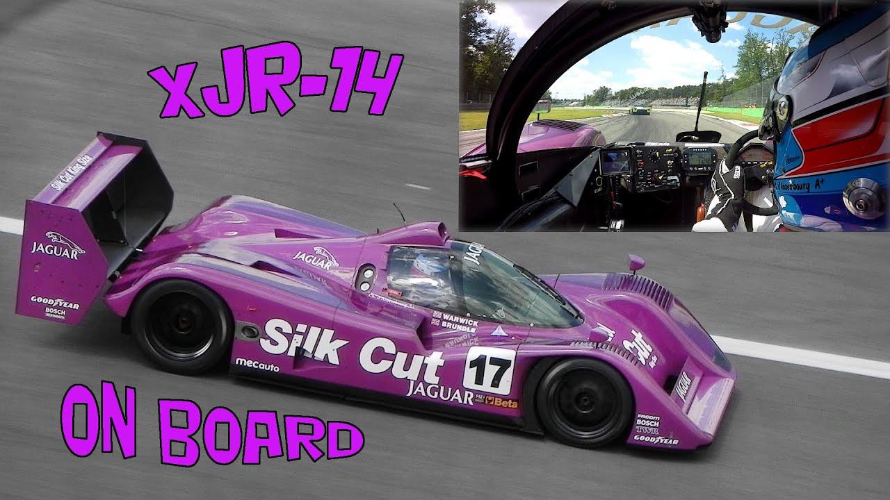 Jaguar XJR-14 Group C On Board at Monza Circuit - GoPro ...